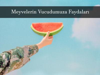 Meyvelerin Vücudumuza Faydaları