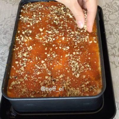Balkabaklı Dilim Pasta Tarifi