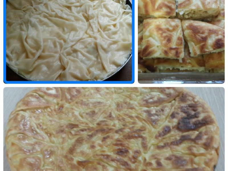 Tavada Lor Peynirli Su Böreği