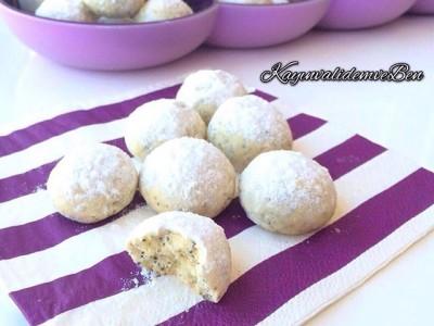 Haşhaşlı limonlu kurabiye