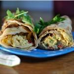 Kahvaltılık burrito
