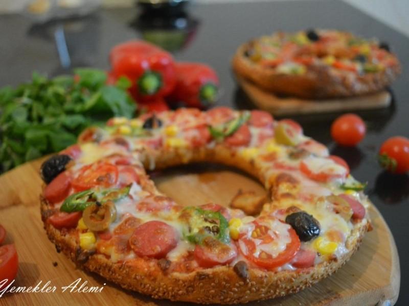 Simit Pizza