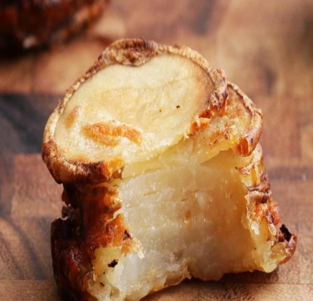 Fırında parmesanlı patates